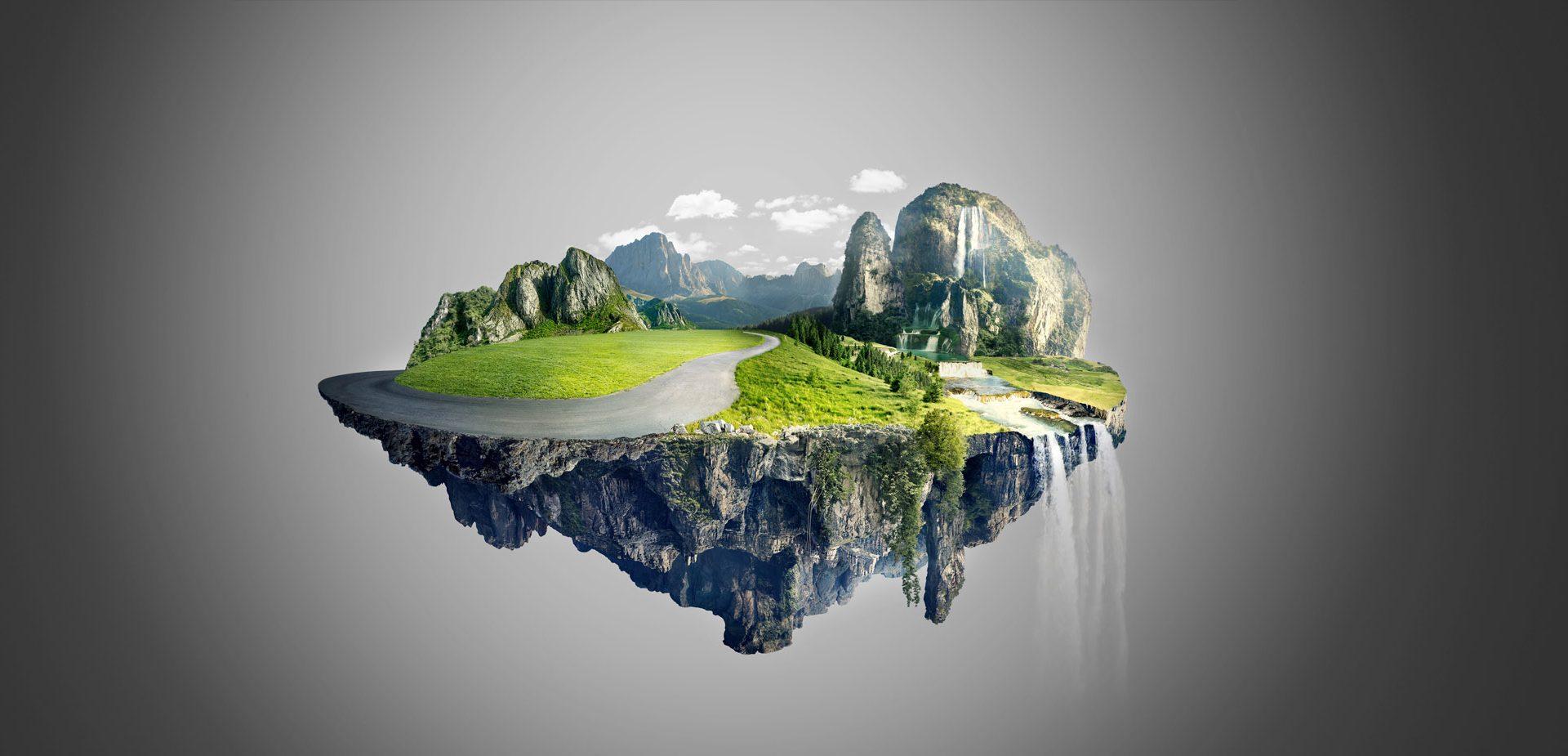 E se la terra fosse piatta tixe magazine for Avere una casa costruita sulla terra